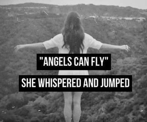 angels, fly, and jump image