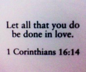 love, god, and bible image