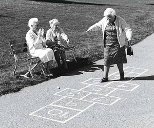 old, black and white, and fun image
