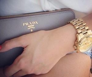 black, gold, and fashion image