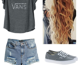 outfit, vans, and cute image