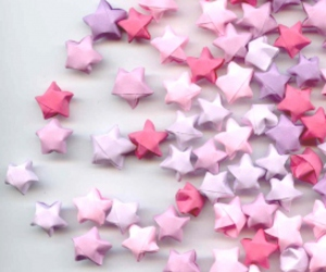 stars, origami, and cute image