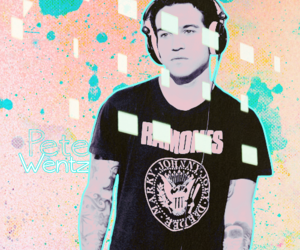 edit, headphone, and fall out boy image