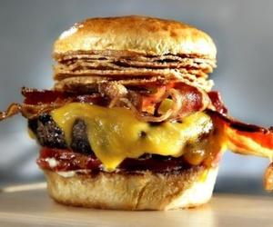 food, like, and hamburger image