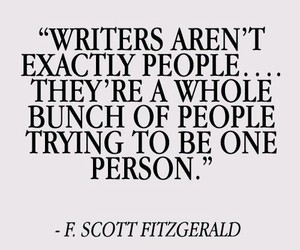 writer, quote, and people image