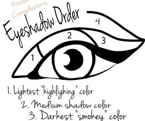 1234, eye shadow, and 4 steps image