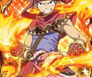 fairy tail, natsu dragneel, and card image