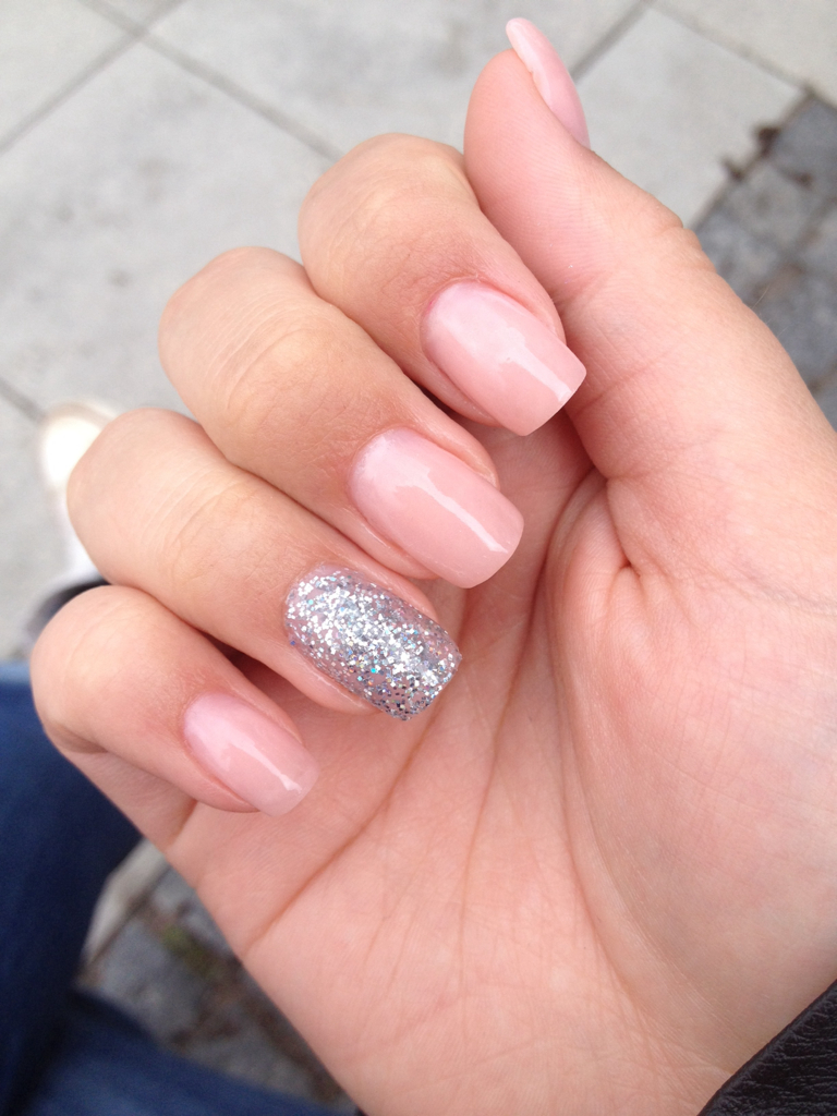 Acrylic nails❤ shared by Maja Krohn Holm on We Heart It