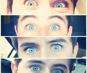 beautiful, blue eyes, and OMG image
