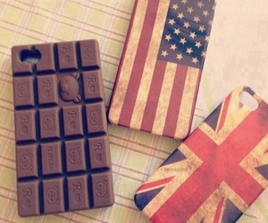 cases, chocolate, and usa image