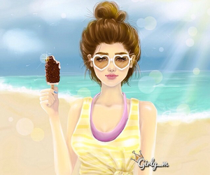 girly_m, summer, and beach image