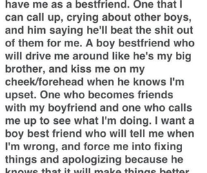 boy, best friends, and quotes image