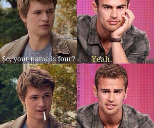 four, divergent, and tfios image