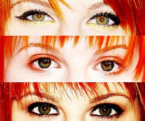 eyes, hayley williams, and paramore image
