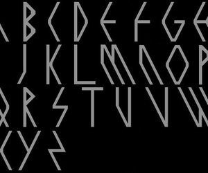 alphabet, exo, and handwriting image