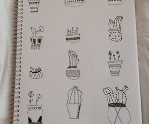 plants, cool, and drawing image