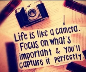 camera, quote, and life image