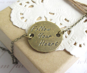 encouragement, follow your heart, and vintage style image