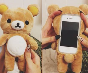 apple, bear, and case image