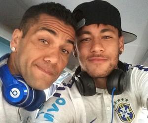 neymar, dani alves, and brazil image