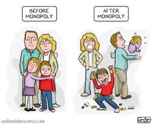 family, monopoly, and funny image
