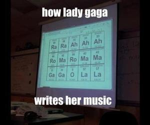 Lady gaga, funny, and music image