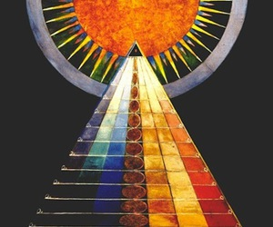 colorful, photo, and pyramid image