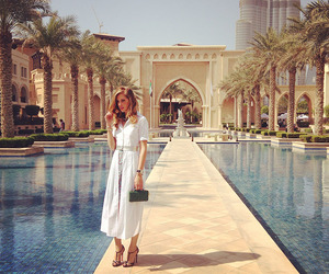 girl, luxury, and Dubai image