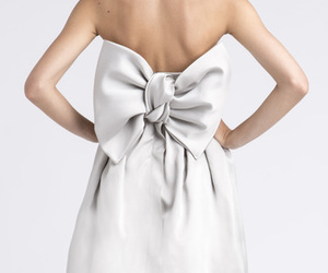 bow, short, and white image
