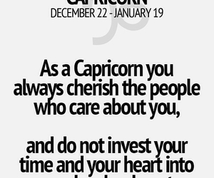 horoscope, personality, and capricorn image