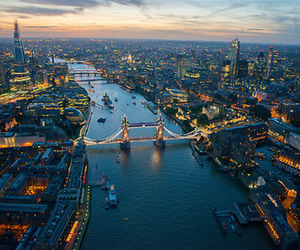 london, beautiful, and bright image