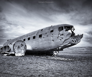 b&w, black and white, and crash image