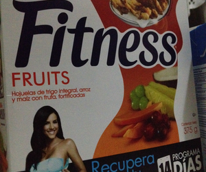 cereal, fitness, and FRUiTS image