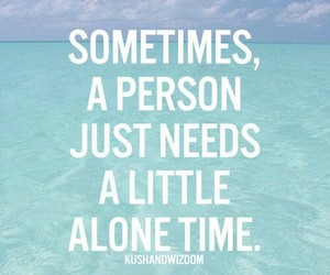 alone, ocean, and quotes image