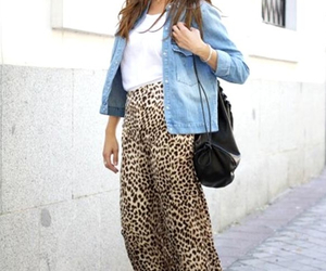 fashion, leopard, and girl image