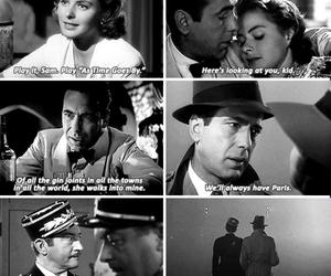 Casablanca, Humphrey Bogart, and ingrid bergman image