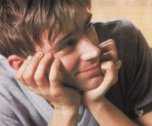 damon albarn, 90s, and blur image