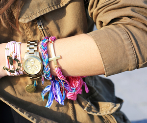 bracelets, jewelry, and Teen Vogue image