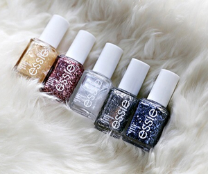blue, glitter, and winter collection image