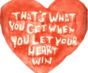 paramore, heart, and quote image