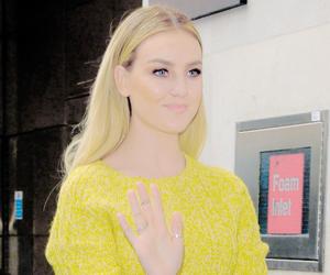 blond, blue eyes, and fashion image