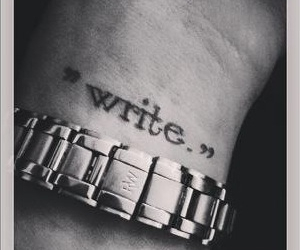 passion, write, and love image