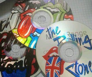 cd, stones, and the rolling stones image