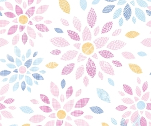 abstract, floral, and flower image