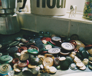 buttons, vintage, and photography image