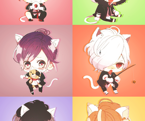 diabolik lovers, anime, and chibi image