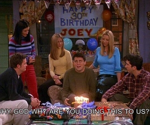 funny, Joey, and brithday image