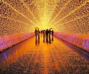 light and japan image