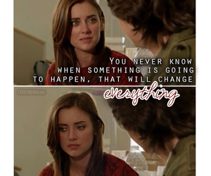90210, Jessica Stroup, and quote image