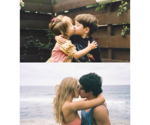 couple, kids, and pretty image